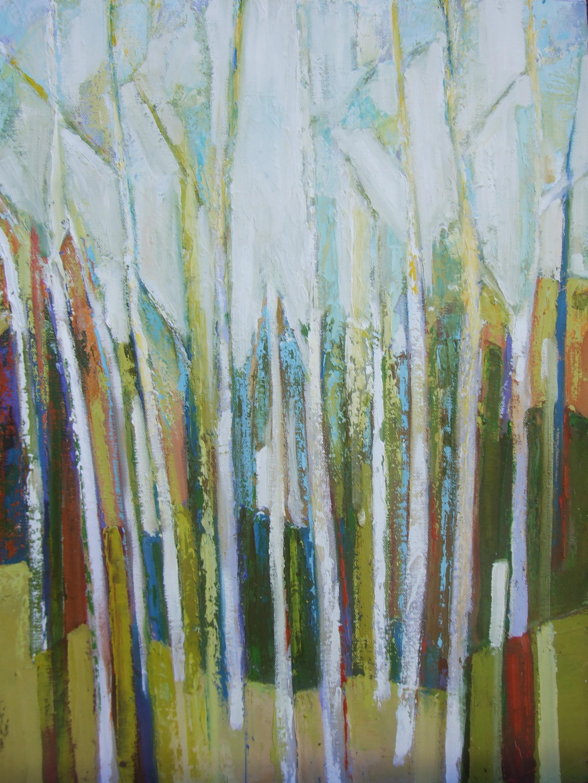 Birch Mosaic Summer