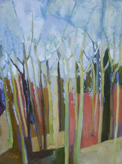 Birch Mosaic Autumn