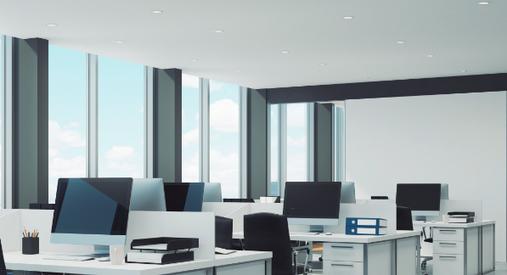 climatisation reversible cassette 4 voies bureaux