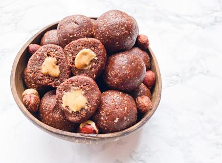 Hazelnut Raisin Cacao Bliss Balls