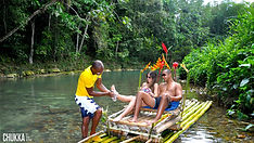 Chukka Zipline & Bamboo Rafting Combo At Lethe