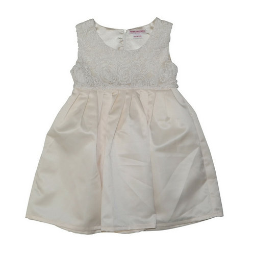Rosetta dress-Cream