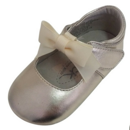 Ava baby shoe -Gold