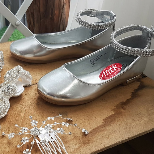 Diamante strap shoe
