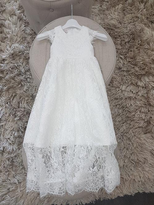 Sienna Vintage lace Christening dress