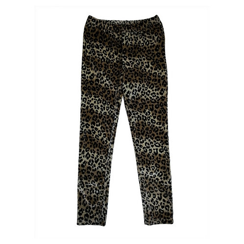 Leopard leggings-Brown