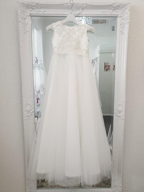 Sophia lace Christening dress