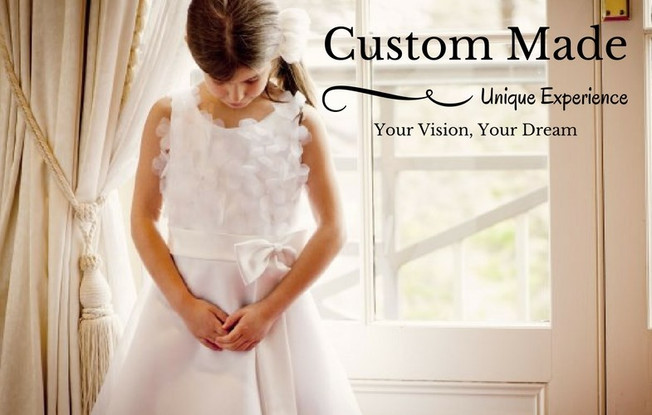 Custom made communion dress