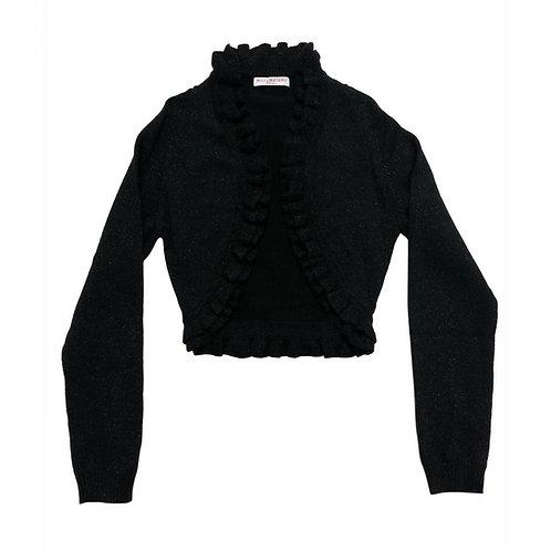 Sparkle knit cardi- Black