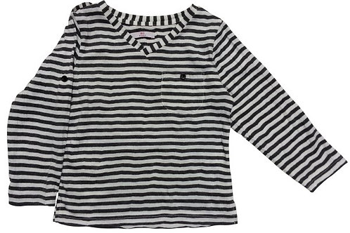 Size 3 -Boys ls stripen top