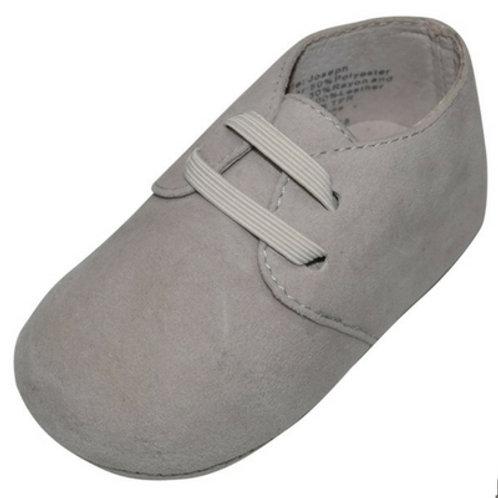 Joseph Suede lace look boys baby shoes - Beige