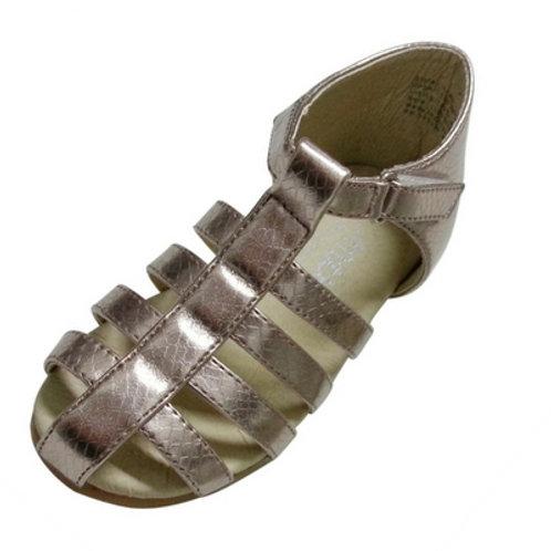 Leah roman sandals - Bronze