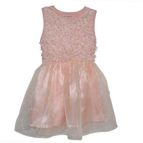 Khloe Pink Rosette Dress