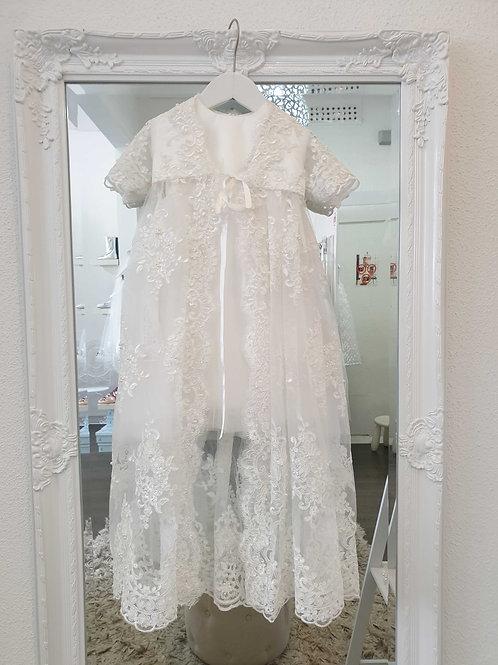 2 piece Christening Gown