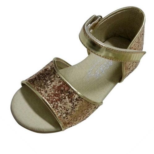 Gracie sparkle sandal - Gold