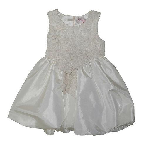 Bubble dress-Cream