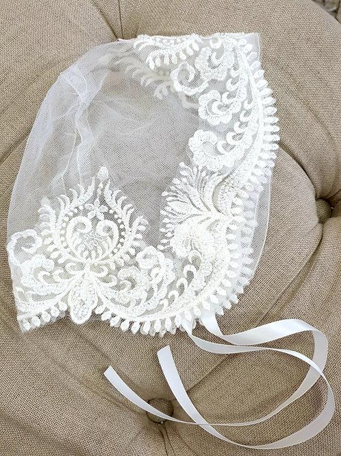 Custom made Beaded Bonnet