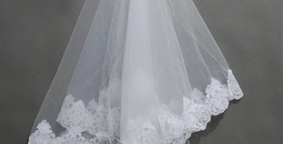 Audrey Elbow Veil