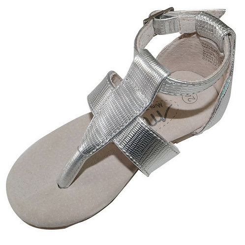 Mary sandals-Silver