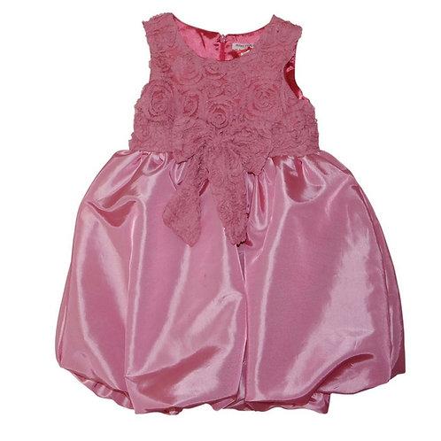 Bubble dress-Fuscia