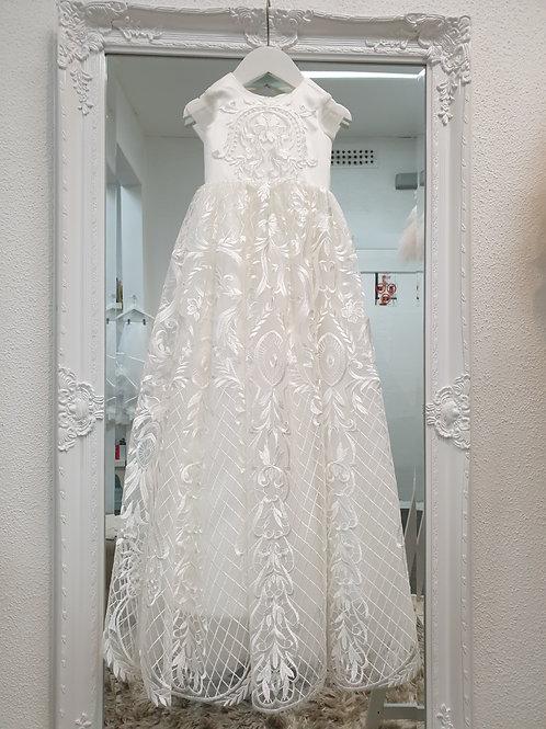 Lulu lace Christening dress