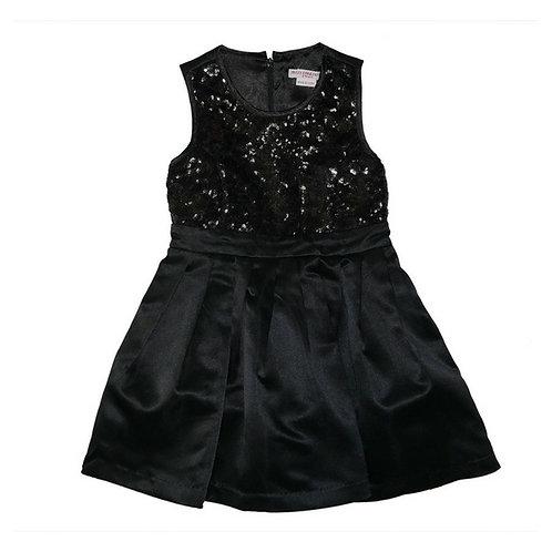 Cayla sequins dress-Black