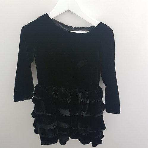 Size 4 -Girls velvet dress