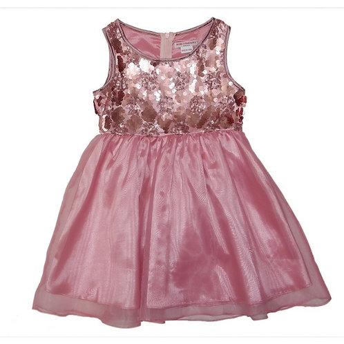 Tonia sequins dress -pink