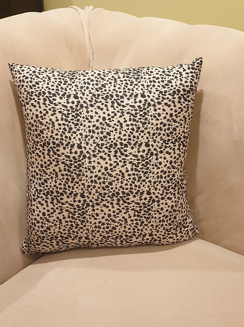 Leopard Cushion Cover, Solid Pillowcase, Leopard Throw Pillow, DecorativeCushion