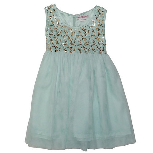 May sequins -mint
