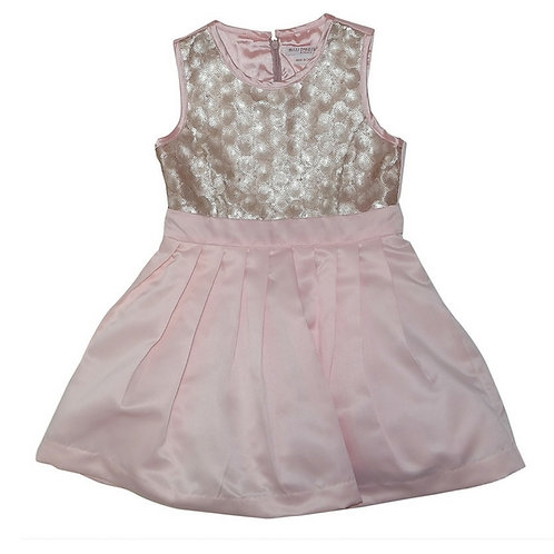 Cayla sequins dress-Pink