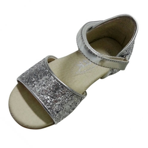 Gracie sparkle sandal -Silver