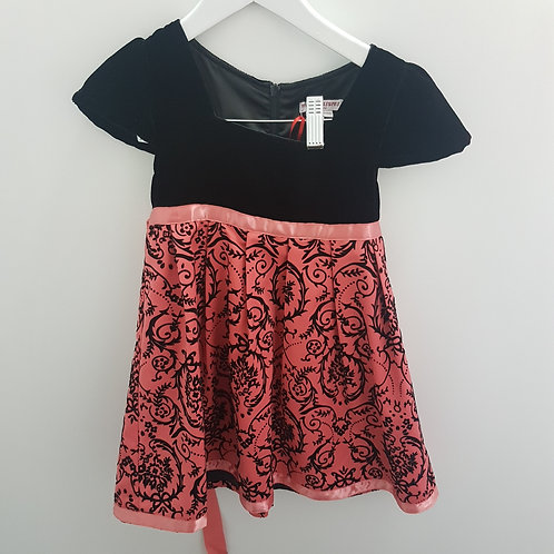 Size 4 -Girls velvet dress