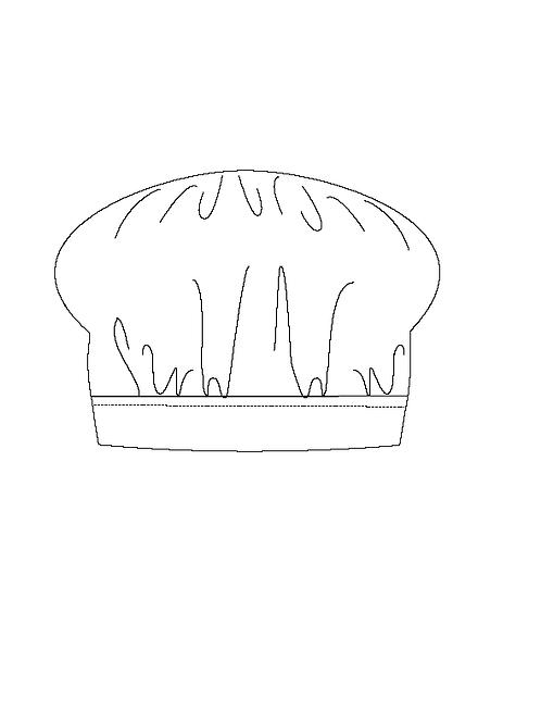 Australian handmade Chef Hat