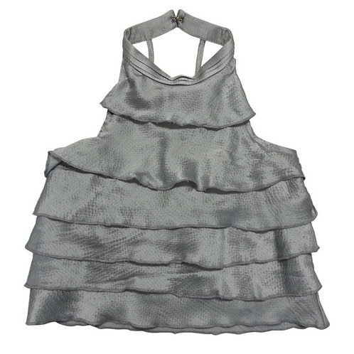 Lily ra ra top-Silver