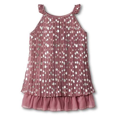 Mia spot dress- Pink