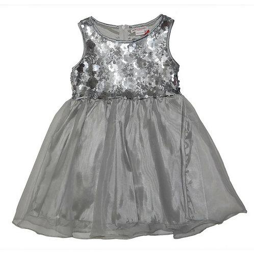 Tonia sequins dress - SILVER