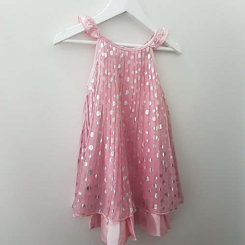Size 3 -Girls pink dress