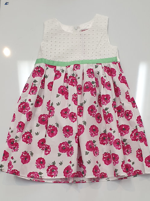 Cherry rose dress
