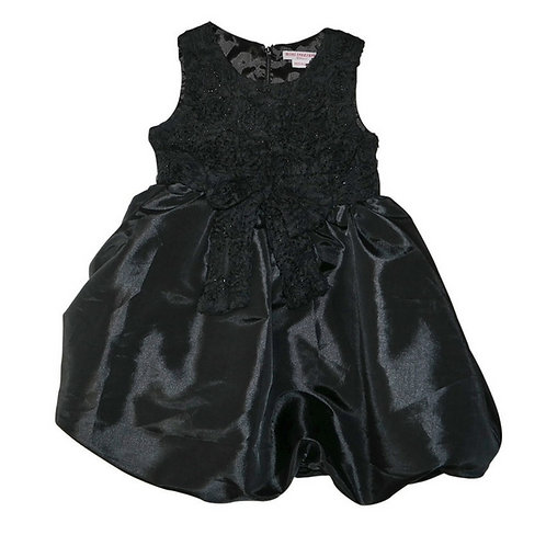 Bubble dress- Black