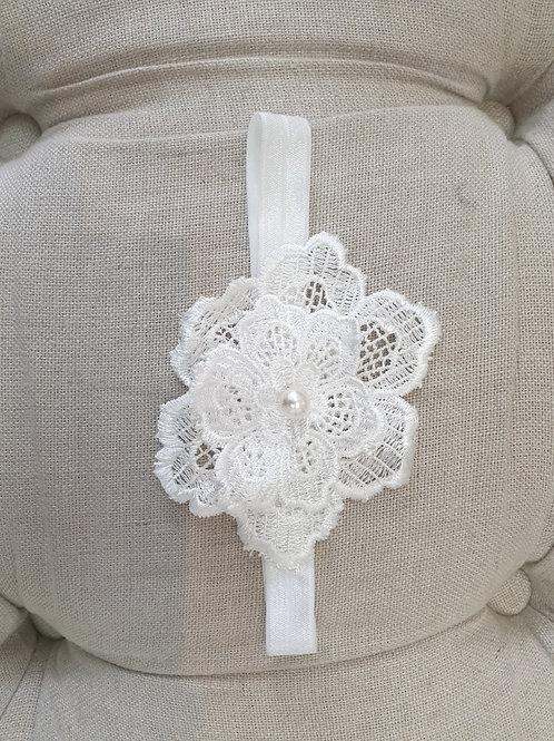 Custom made baby flower headband