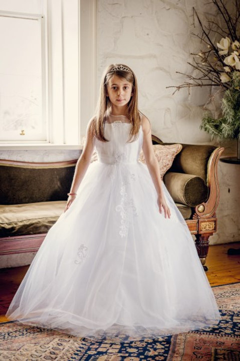Madalen Lace Tulle Dress