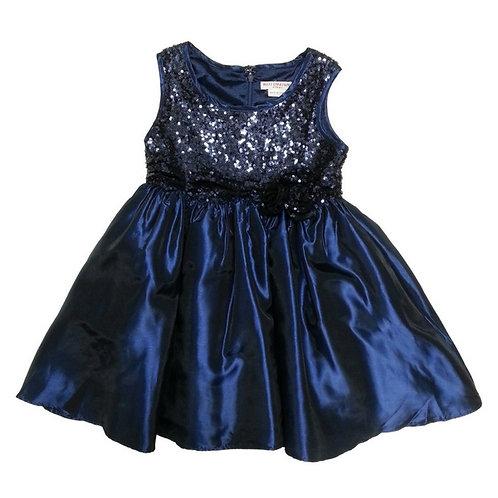 Ivy party dress-Blue