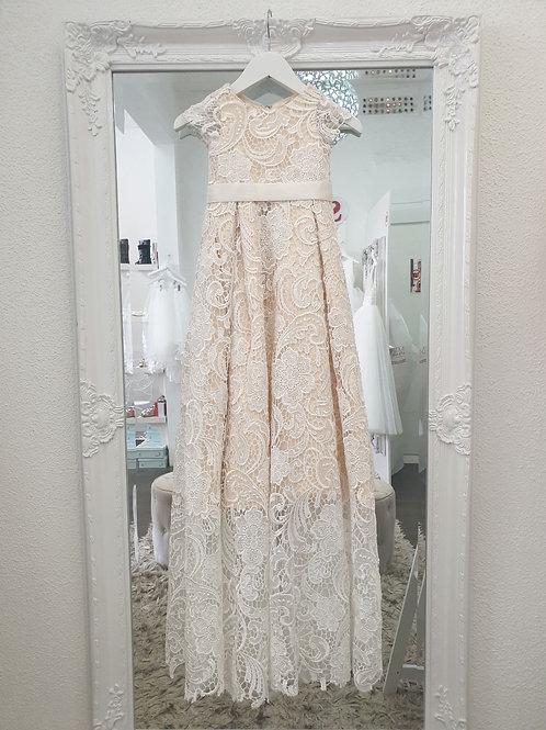 Frankie lace Christening dress