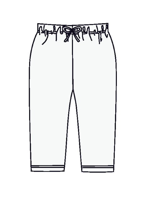 Australian handmade Cotton Baby Girl Pant