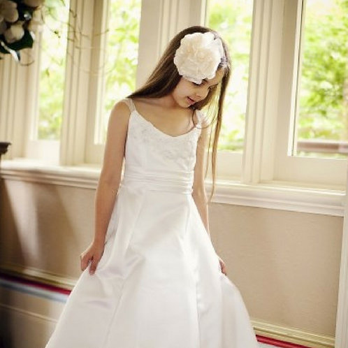 Lily Dress with lace at shoulders