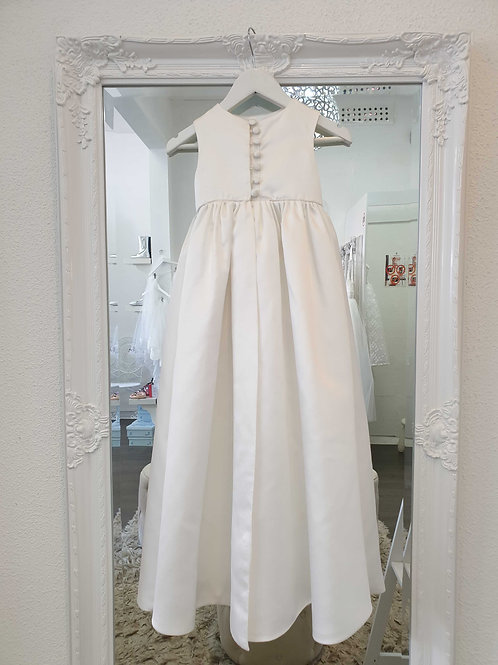 Satin Christening Gown
