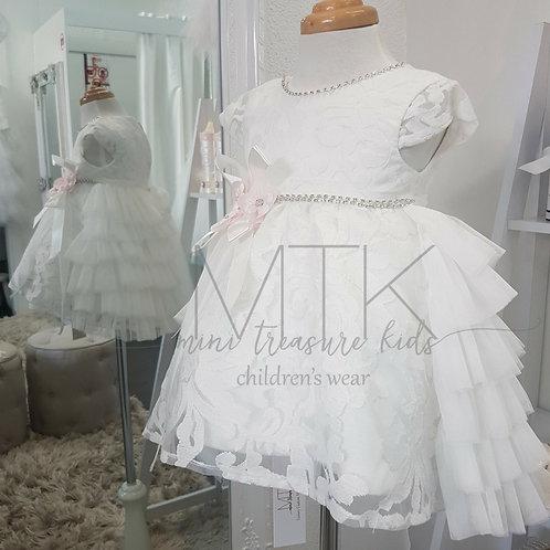 Custom made Harper Girl Dress - Birthday Wedding, Flower Girl, Christening