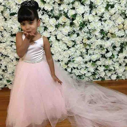Princess ice pink toddler girls dress - Custom made Pre-order