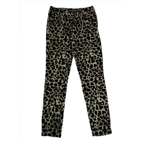 copy of Leopard leggings-Black